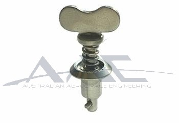 Winged 1/4 Turn Stud S/S