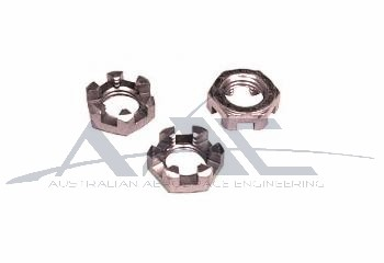 Castellated Nut S/S