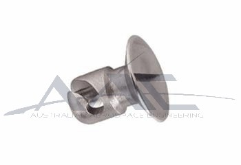 Flush Head 1/4 Turn Stud S/S